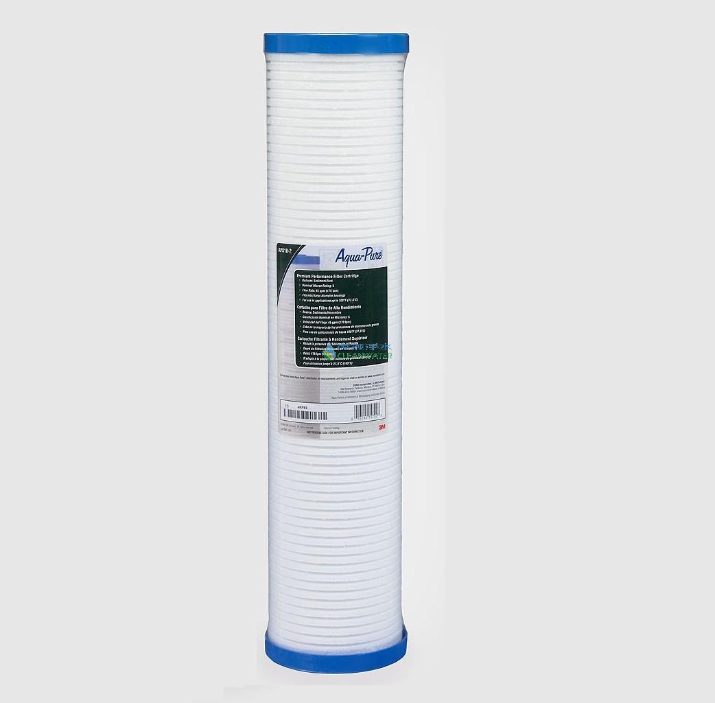 3M AP810-2 溝槽式 PP 濾心(AP903全戶淨水器前置保護 PP 濾芯)