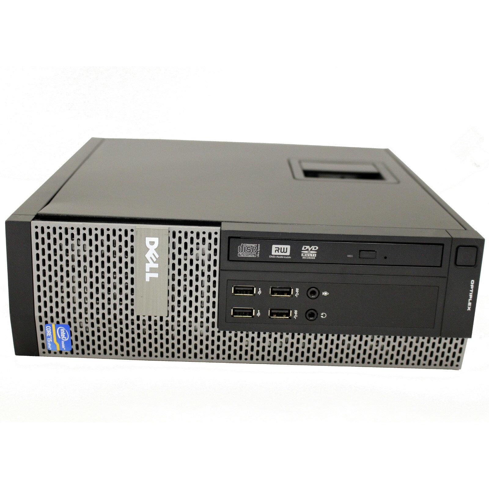 Dell OptiPlex 9010 SFF Gaming PC Intel Core i5-3470 3 20GHz 8GB DDR3 RAM  2TB HD DVDRW GeForce GT 1030 2GB Windows 10 Home