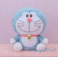 小叮噹週邊商品推薦X射線【C029803】哆啦A夢Doraemon 絨毛娃娃景品30x35cm,絨毛/填充玩偶/玩具/公仔/抱枕/靠枕/娃娃