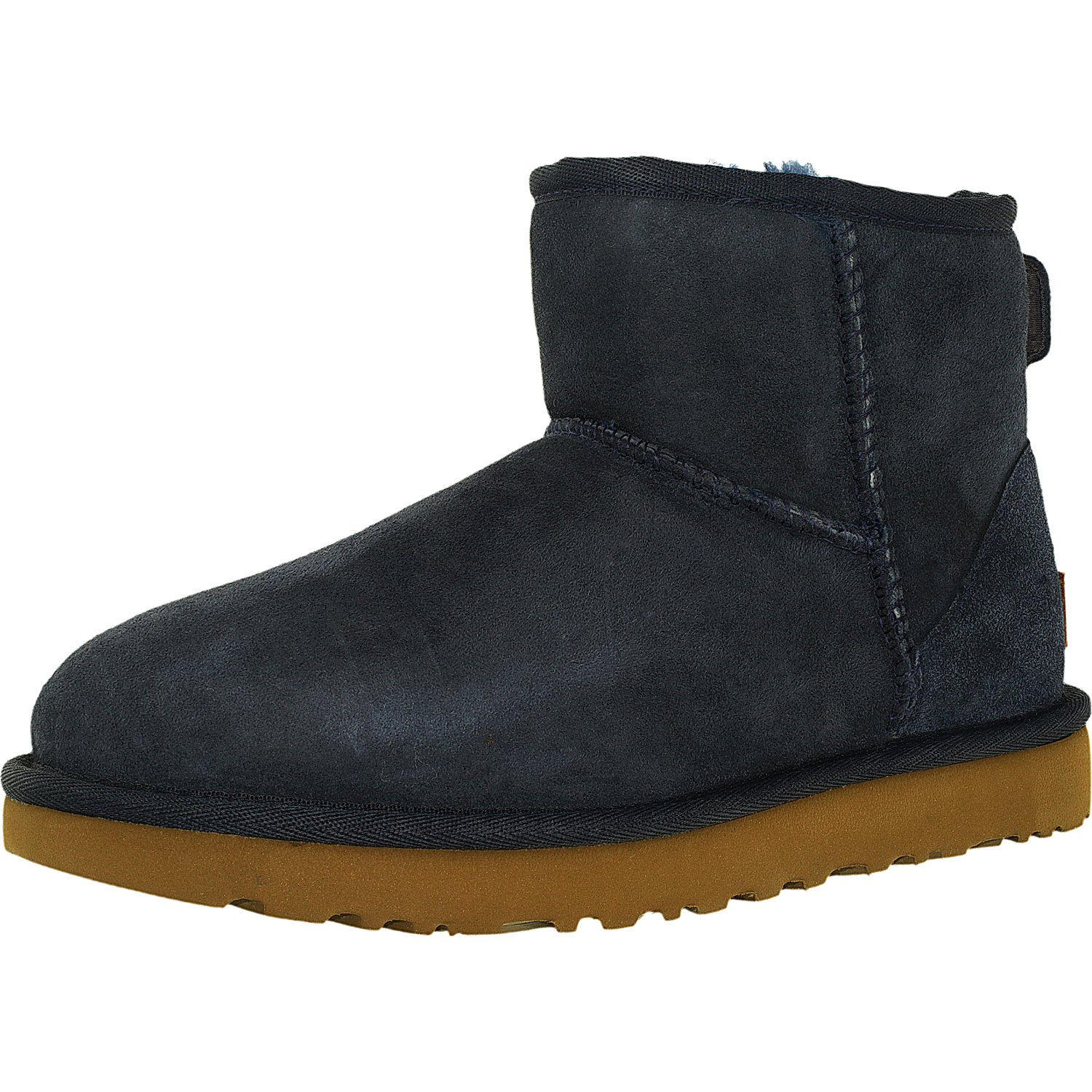 Ugg Women's Classic Mini II Leather Ankle-High Suede Boot 4