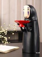 神隱少女周邊商品推薦存錢罐千與千尋無臉男存錢罐電動存錢罐創意禮物吃硬幣打嗝禮品日本玩具