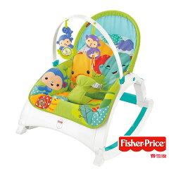 【Fisher-Price】費雪 可攜式兩用震動安撫躺椅