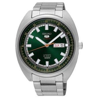 Seiko精工錶4R36-05Y0G(SRPB13J1)精工機械腕錶綠44mm