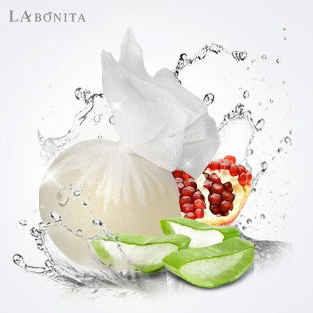 韓國 LA BONITA 超含水天然果凍潔面球 120g 洗臉 洗面乳 可卸妝【N200994】