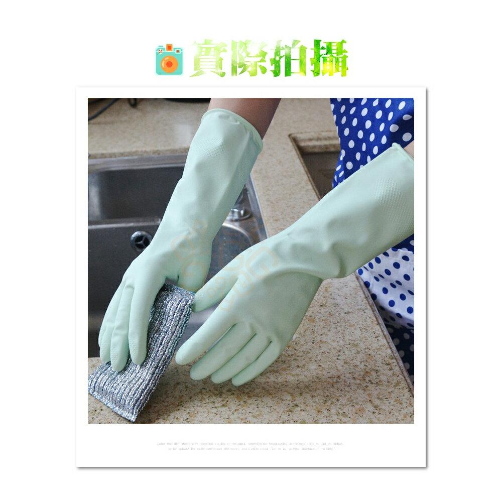 ORG《SD1347d》三花 蘆薈絨裡手套 蘆薈護手手套 工作手套 清潔手套 洗碗 家事 手套 大掃除 清潔工具 廚房 4