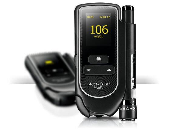 【送電子體重計】ACCU-CHEK 羅氏 Mobile 全方位血糖機 禮盒組 德國進口 熊賀康醫材