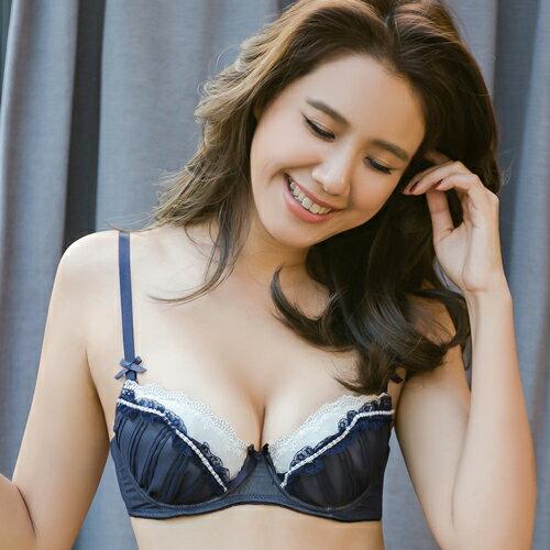 法香頌日本內衣成套(藍) FLORA LOVELY