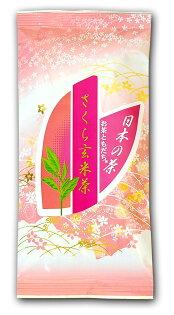 #代購商品櫻花的香味*戀愛的感覺櫻花玄米茶100g