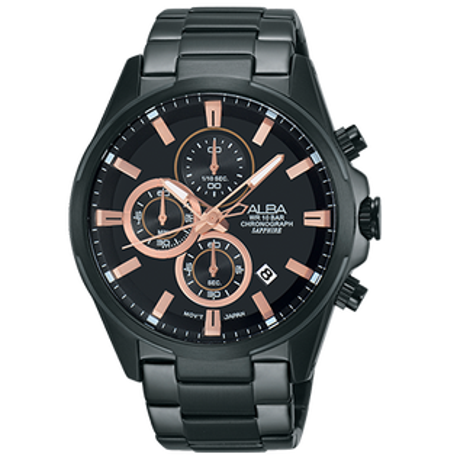 ALBAVD57-X081SD(AM3341X1)時尚三眼計時腕錶43mm