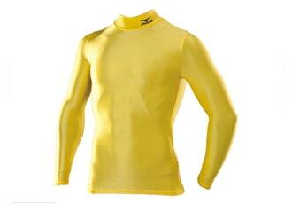 [陽光樂活=] MIZUNO 美津濃 BIO GEAR 緊身衣 黃色 A60BS35046