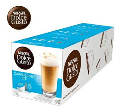 雀巢 新型膠囊咖啡機專用 冰卡布奇諾咖啡膠囊 (一條三盒入) 料號 12161730 ★冰涼香甜夏季限定