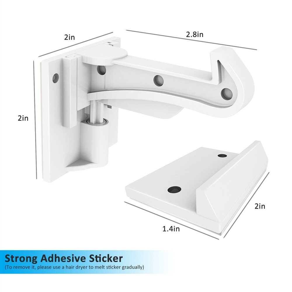Cabinet Locks Child Safety Cabinet Latches Locks, 10 Packs, Easy to Install, No Tools or Drilling Needed, Invisible Design, with Buckles and Screws - White 3