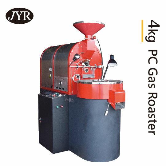 【JYR台灣】4kg 全自動直火/半熱風 變頻咖啡烘豆機