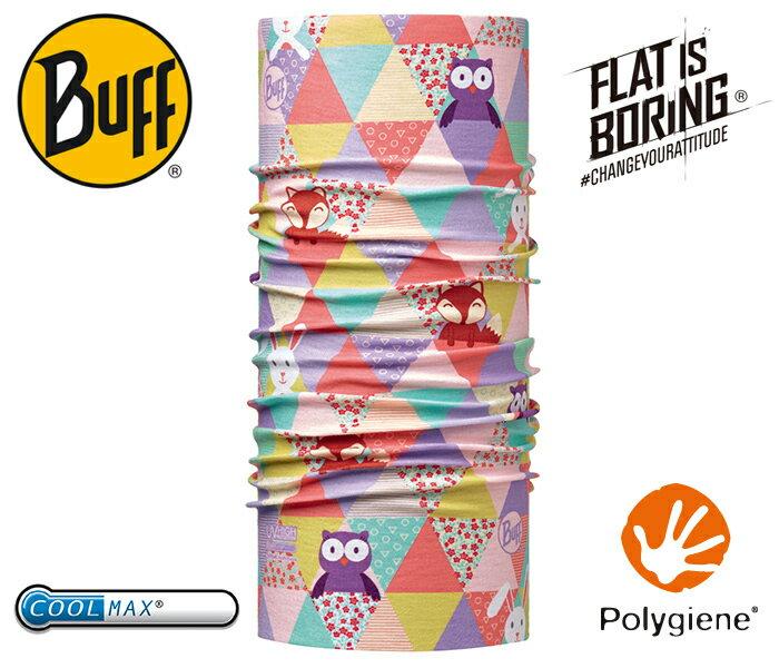├登山樂┤西班牙 BUFF 可愛動物 寶寶 Coolmax 抗UV頭巾 # BF115090-555