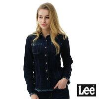 牛仔襯衫推薦到Lee牛仔長袖襯衫/BO-女-深藍就在Lee Jeans tw推薦牛仔襯衫