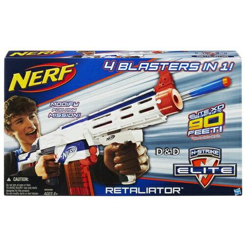 【 NERF 樂活打擊 】復仇者四合一衝鋒槍