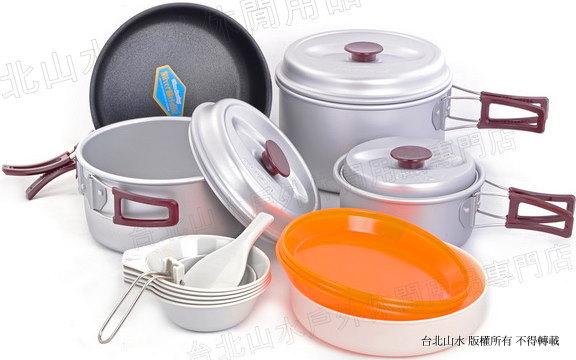 Kovea KSK-WY56 Silver 56 亮晶晶家庭鍋具組/鋁合金套鍋組/露營登山大套鍋 5-6人份