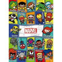 漫威英雄Marvel 周邊商品推薦【P2 拼圖】Marvel Kawaii 漫威可愛(1)拼圖520片 HPM0520-008