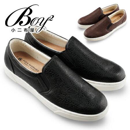 ☆BOY-2☆【NKP-FLP26】懶人鞋 編織紋休閒懶人鞋 0