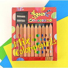 日本 KOKUYO 10色 混合色鉛筆