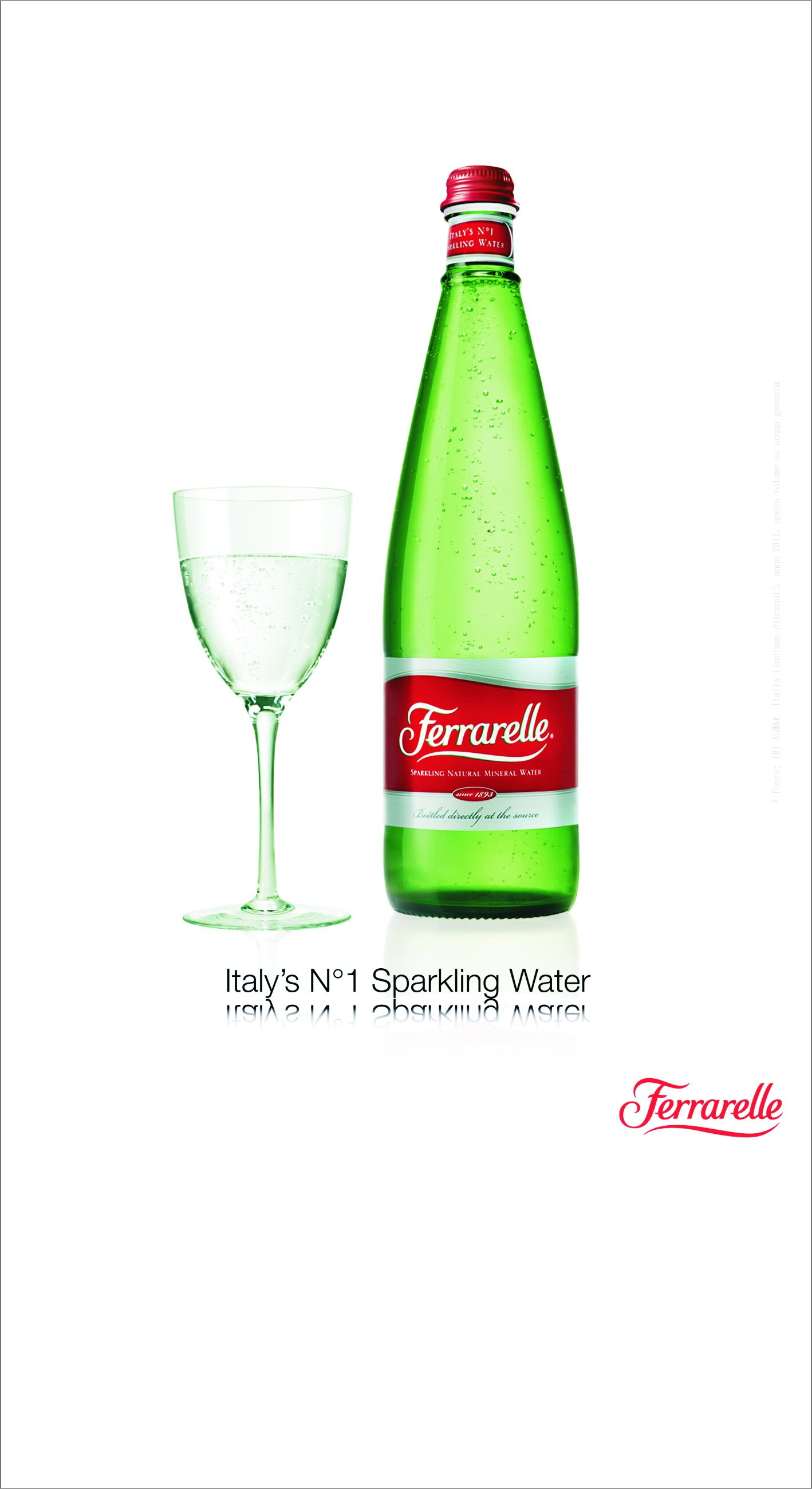 義大利法拉蕊天然氣泡礦泉水750ml*12瓶/箱 1