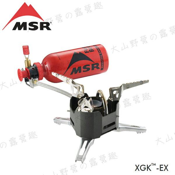 【露營趣】MSR11043XGK-EX多燃料汽化爐快速爐汽化爐高山爐登山爐適用汽油去漬油煤油柴油