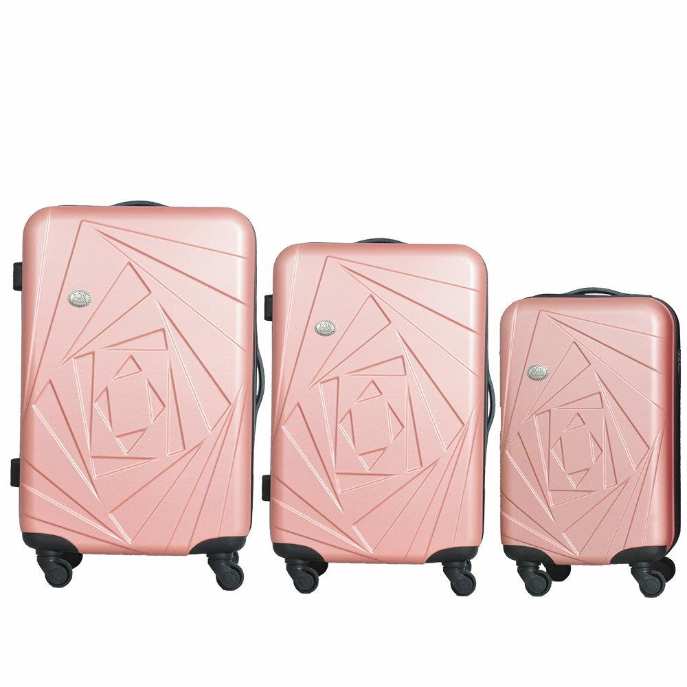 Mon Bagage 巴黎風情系列ABS輕硬殼 28寸 24寸 20寸 三件組 旅行箱 行李箱 3