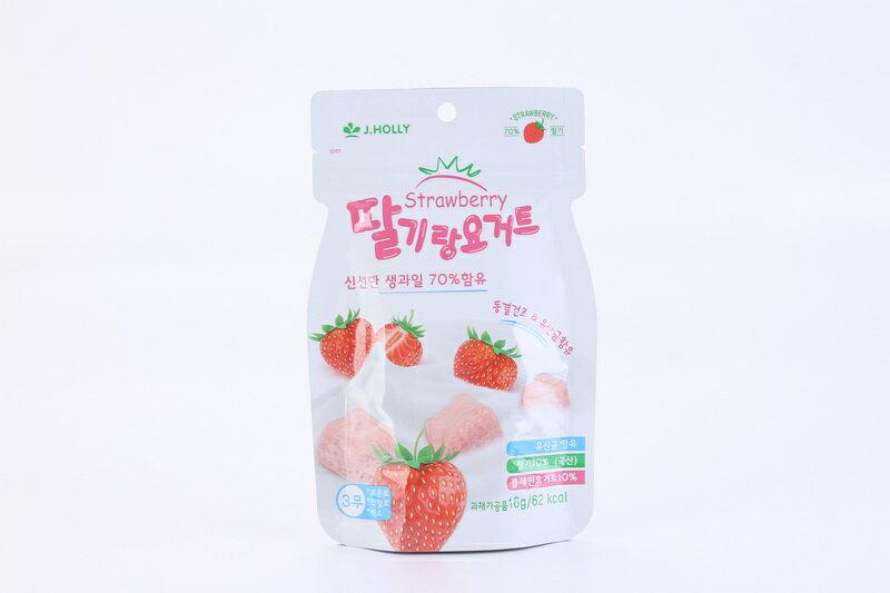 【家禾麗】草莓優格豆豆餅