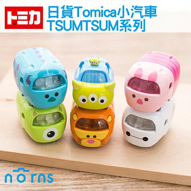 NORNS 【日貨Tomica小汽車 TSUMTSUM系列】日本TOMICA多美小汽車 三眼怪 小豬 杯麵 玩具車