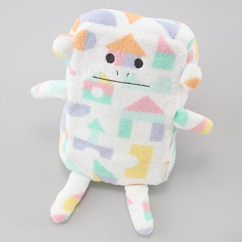 ◎LY愛雅日貨代購◎ 日本代購  宇宙人 CRAFTHOLIC 保暖毛毯 積木猴