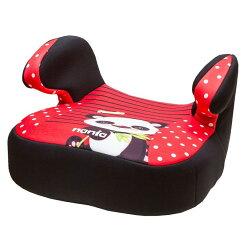 【奇買親子購物網】法國NANIA納尼亞輔助型汽車座椅(熊貓紅/花豹灰/熊貓綠)