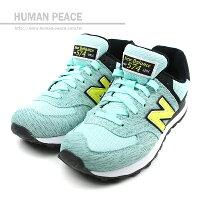 New Balance 美國慢跑鞋/跑步鞋推薦NEW BALANCE 574系列 休閒鞋 藍綠 女款 no771