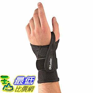 [106美國直購] Mueller 護腕 Sports Medicine Adjustable Wrist Brace, Black, Small/Medium