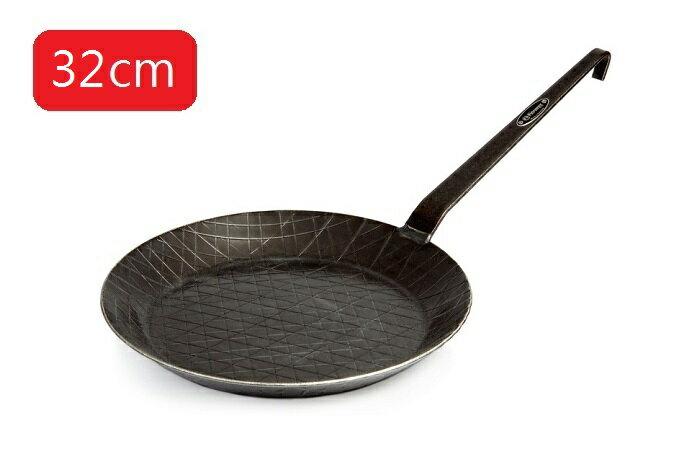 【露營趣】中和 德國 Petromax SP32 Wrought Iron Pan 鍛鐵煎鍋 平底鍋 32cm