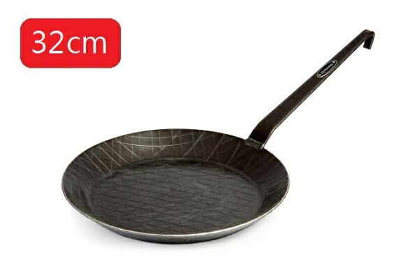 【露營趣】中和德國PetromaxSP32WroughtIronPan鍛鐵煎鍋平底鍋32cm