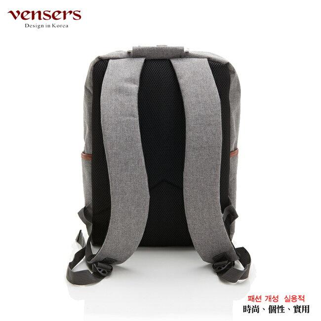 【vensers】簡約丹寧牛仔後背包(R00066302淺灰) 1