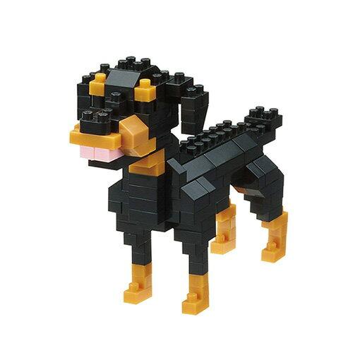 《NanoBlock迷你積木》NBC-263羅威納犬