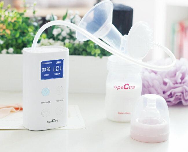 『121婦嬰用品館』貝瑞克 9Plus攜帶式電動雙邊吸乳器 - 白 1