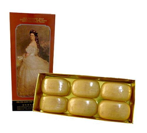 香港金石黃金美容皂6入