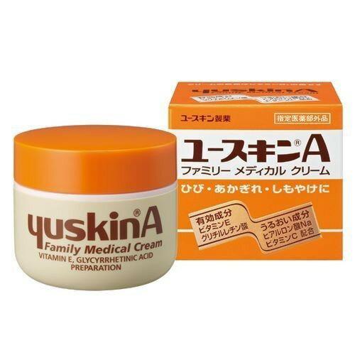 日本原裝進口yuskin 新悠斯晶A乳霜 護手霜 120g