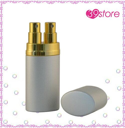 [ 39store ] 18ml 電化鋁香水分裝瓶 玻璃內瓶 可重複填充 橢圓形