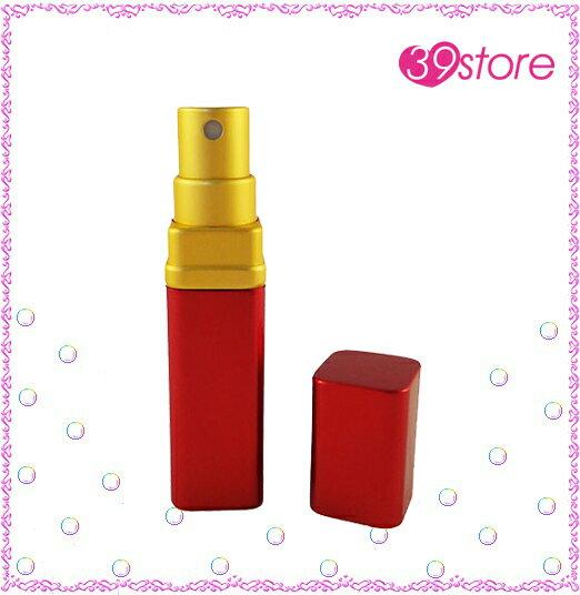[ 39store ] 限量一個 消光紅配消光金色 6ml 精美香水分裝瓶 質感好 方便攜帶 外出旅行 填充簡單 可分裝消毒酒精、化妝水、香水