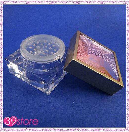 39store   #AY161B 方形蜜粉罐 20ml 蔥粉盒 壓克力水鑽