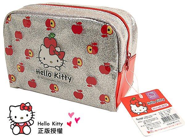 <br/><br/>  BO雜貨【SV3135】hello kitty 化妝包 正版授權 化妝品收納 筆袋 文具收納 袋中袋 手拿包<br/><br/>