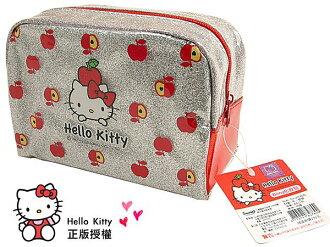 BO雜貨【SV3135】hello kitty 化妝包 正版授權 化妝品收納 筆袋 文具收納 袋中袋 手拿包