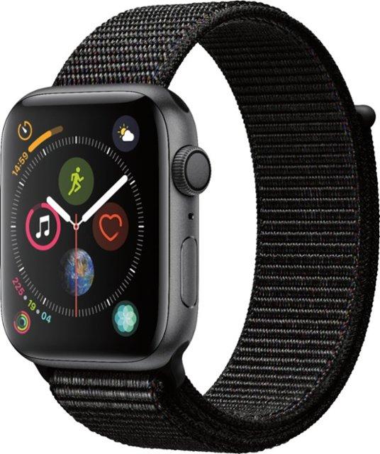 50258373 CE Overstock: Apple Watch Series 4 44mm (GPS) Space Gray Aluminum ...