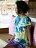【Bali】100%有機棉自然紮染T恤 5