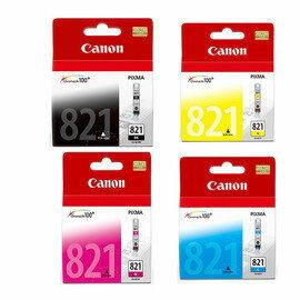 CANON CLI-821BK/C/M/Y 原廠墨水超值組 全新原廠公司貨◆含稅附發票