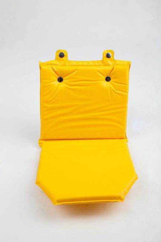 前後兩用兒童安全椅 黃色軟墊 座墊 椅墊《意生自行車》