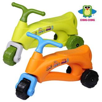 親親 法國號三輪學步車 (綠色、橘色) CA-22【德芳保健藥妝】學步車.滑步車.玩具車.碰碰車.助步車